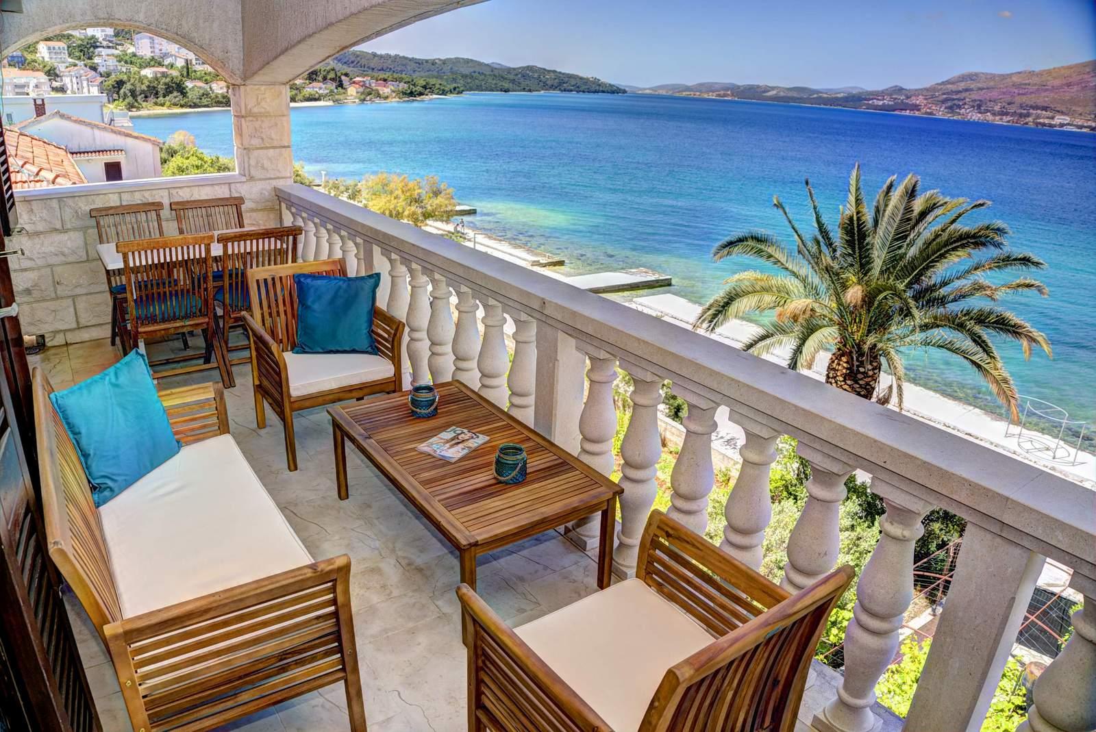 Villa Bralo Balkon 1