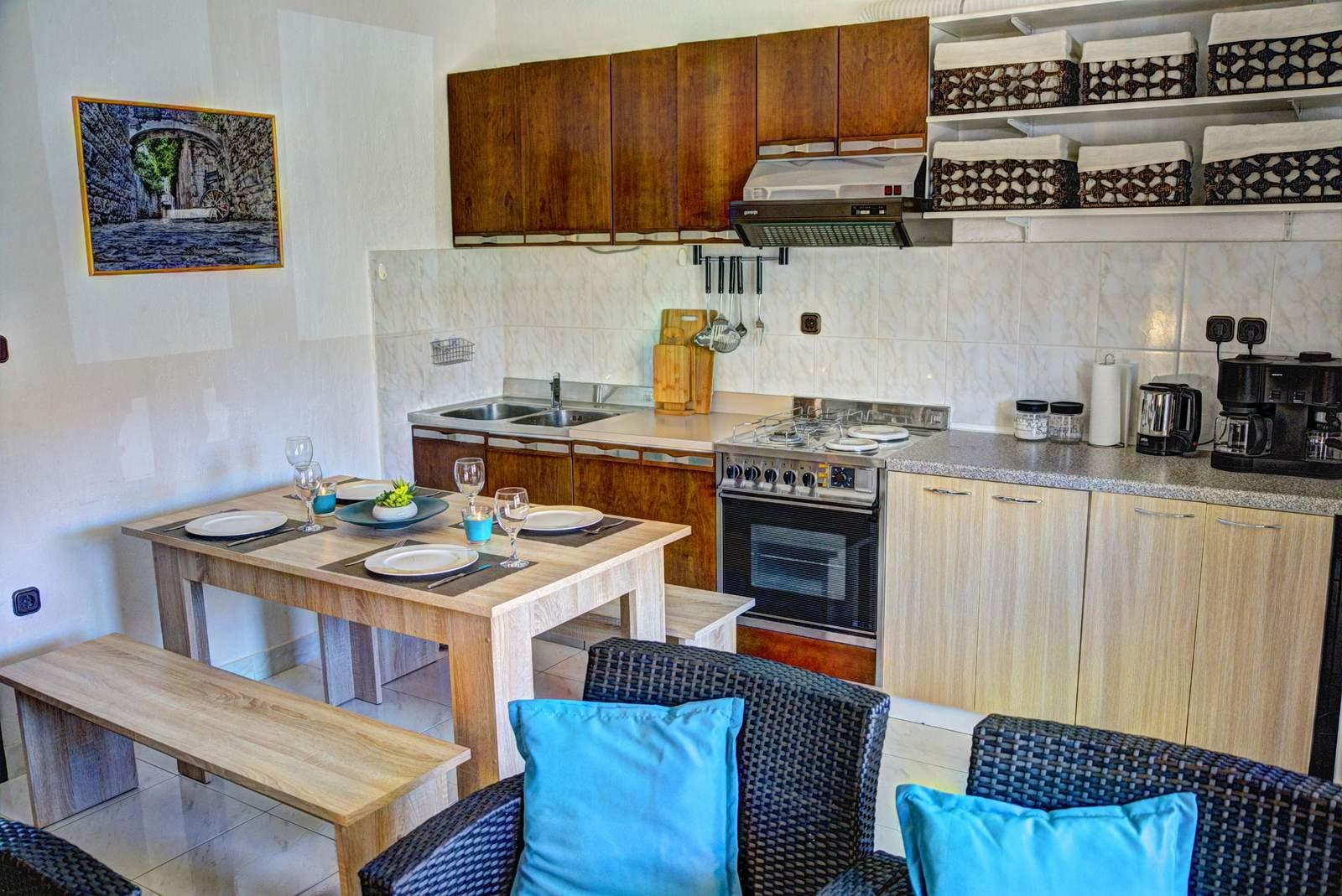 Villa Bralo Küche